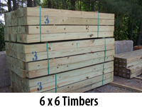 6 x 6 Timbers