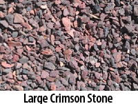 Large Crimson Stone